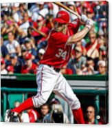 Bryce Harper Washington Nationals Acrylic Print
