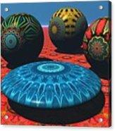 Bryce Kaleidoscope Sampler Acrylic Print