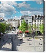 Georges Pompidou Square Acrylic Print