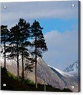Buachaille Etive Mor From Glen Etive Acrylic Print