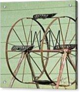 Bubbas  Fairs Wheel Acrylic Print