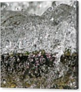 Bubble Falls Acrylic Print