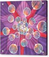 Bubble Glory Acrylic Print