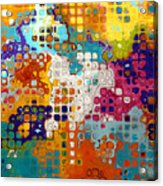 Bubble Gum Alley I Acrylic Print