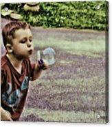 Bubble Liscious Acrylic Print