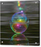 Bubble Shazam Acrylic Print