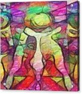 Bubbleclubtoo Acrylic Print