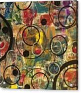 Bubbles Acrylic Print by Sonya Wilson