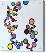 Bubbles2 Acrylic Print