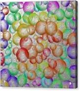 Bubbly Bubbles 2 Acrylic Print