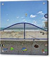 Buccaneer Beach Acrylic Print