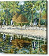 Buccaneer Island Acrylic Print
