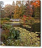 Buck Garden Fall Acrylic Print