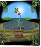 Bucket Butterfly Acrylic Print
