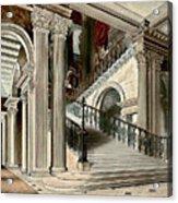 Buckingham House Stair Case Acrylic Print