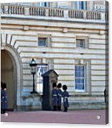 Buckingham Palace Guards Acrylic Print