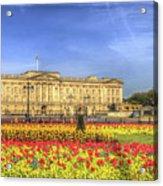 Buckingham Palace London Panorama Acrylic Print