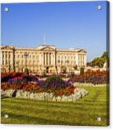 Buckingham Palace, London, Uk. Acrylic Print