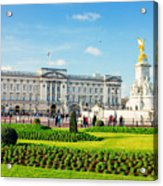 Buckingham Palace Sunny Day Acrylic Print