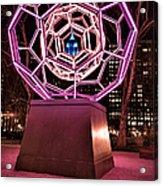 bucky ball Madison square park Acrylic Print by John Farnan