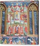 Bucovina Monastery Fresco Acrylic Print