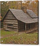Bud Ogle Cabin Fall  Acrylic Print