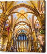 Budapest - Mathias Cathedral Acrylic Print