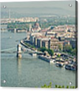 Budapest Panorama Photo Acrylic Print
