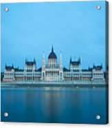 Budapest Parliament Building Acrylic Print