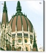 Budapest Parliment Acrylic Print
