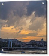 Budapest View Acrylic Print