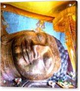 Budda Sleep Acrylic Print