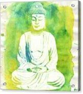 Buddha By Raphael Terra Acrylic Print