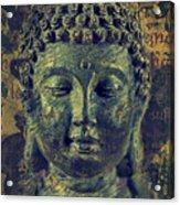 Buddha End Of Suffering Acrylic Print