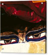 Buddha Eyes Acrylic Print