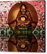 Buddha Garden Acrylic Print