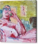 Buddha Gets Bad News In La Acrylic Print