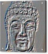 Buddha Head 3 Acrylic Print