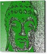 Buddha Head 4 Acrylic Print