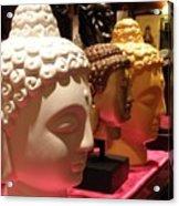 Buddha Heads Acrylic Print