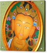 Buddha Mirror Acrylic Print