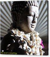 Buddha Mind Acrylic Print
