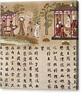Buddha: Prince Gautama Acrylic Print