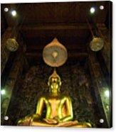 Buddha Sitting Acrylic Print