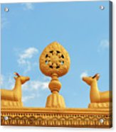 Buddha Symbol Acrylic Print