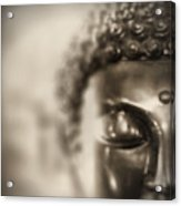 Buddha Thoughts Acrylic Print
