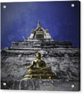 Buddha Watching Over Acrylic Print