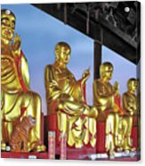 Buddhas Delight - Representations Of Buddhism Acrylic Print by Christine Till