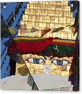 Buddha's  Eyes Acrylic Print