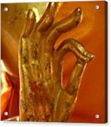 Buddhism Symbols Acrylic Print